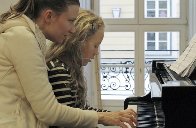 Aus dem Klavierunterricht